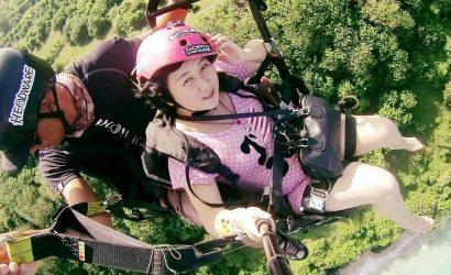 bali paragliding