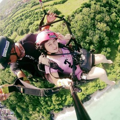 paragliding Bali