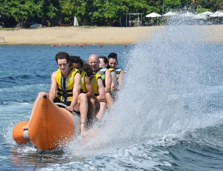 banana boat water sport bali